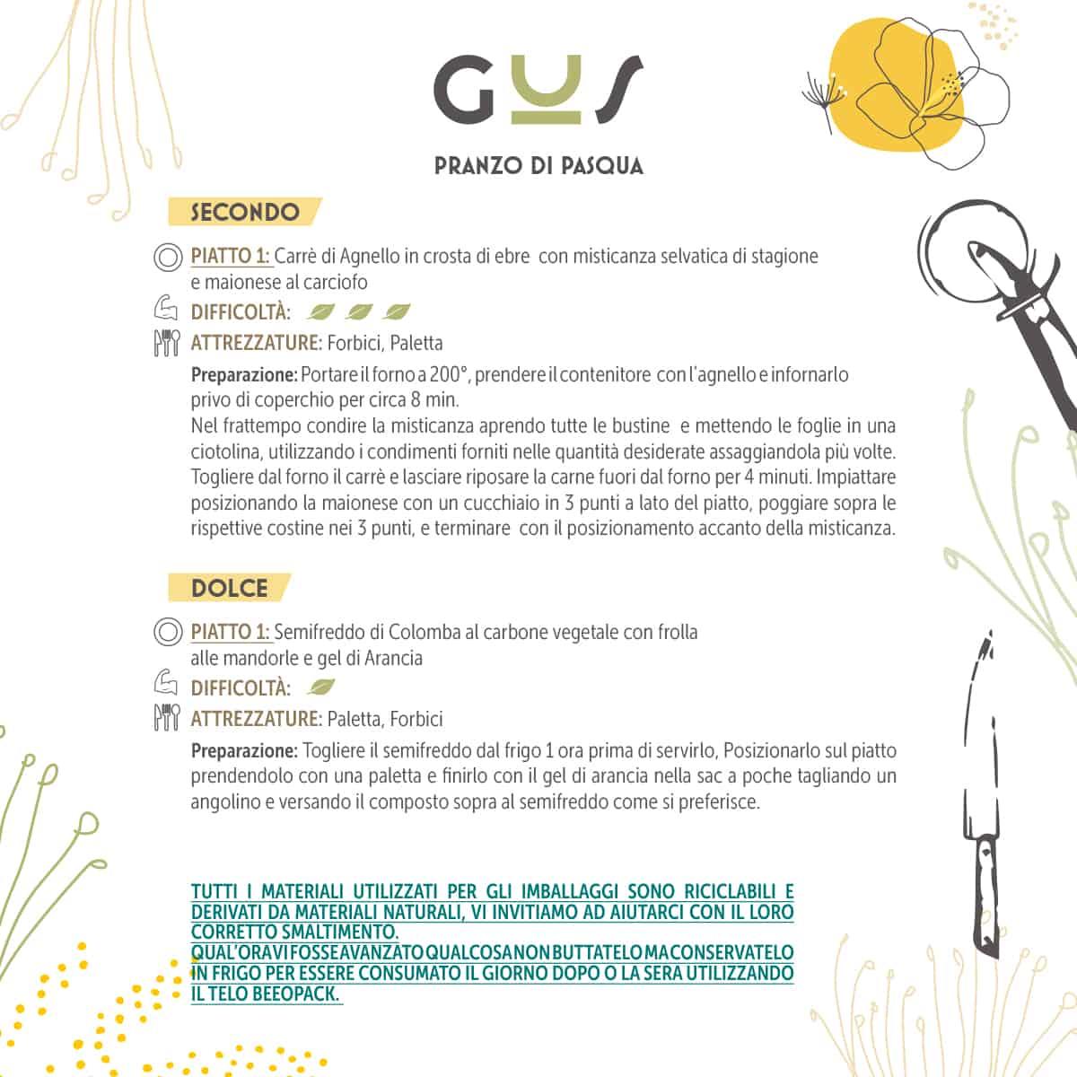 Cartolina Gus Pasqua Q 2